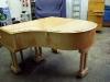 C Mand Coblenz Grand Piano - Before Refinishing
