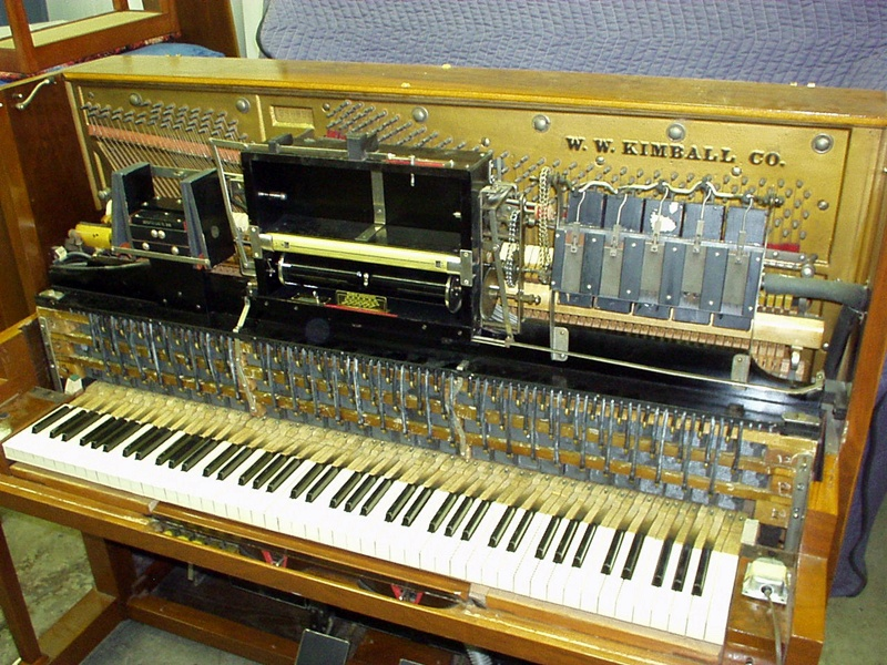 Kimball Player Piano