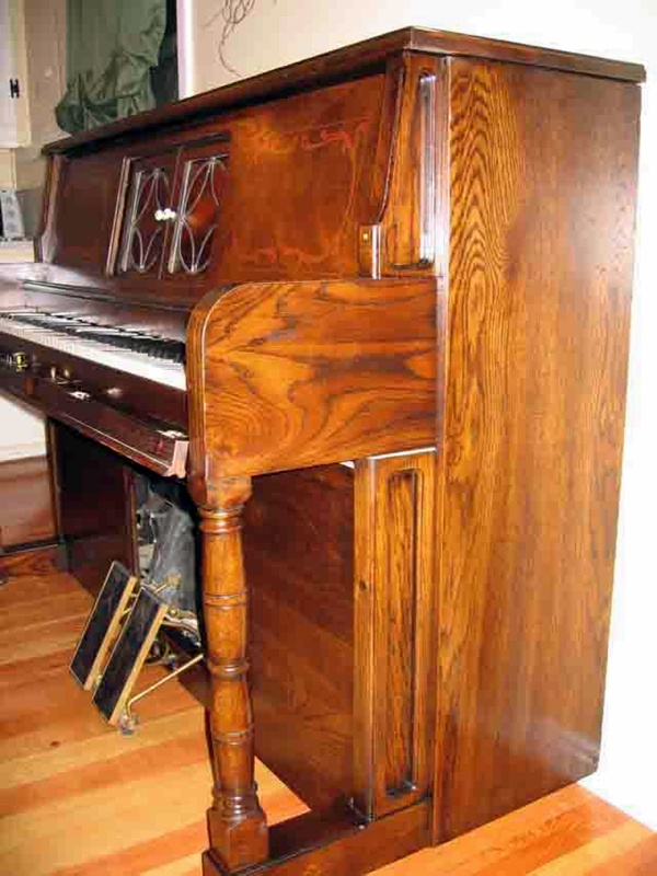 Player Piano Rebuilding Dunkley Music