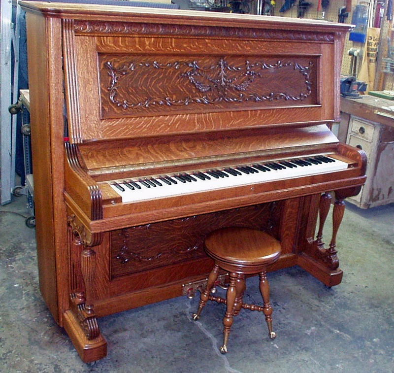 George Bent Upright Piano