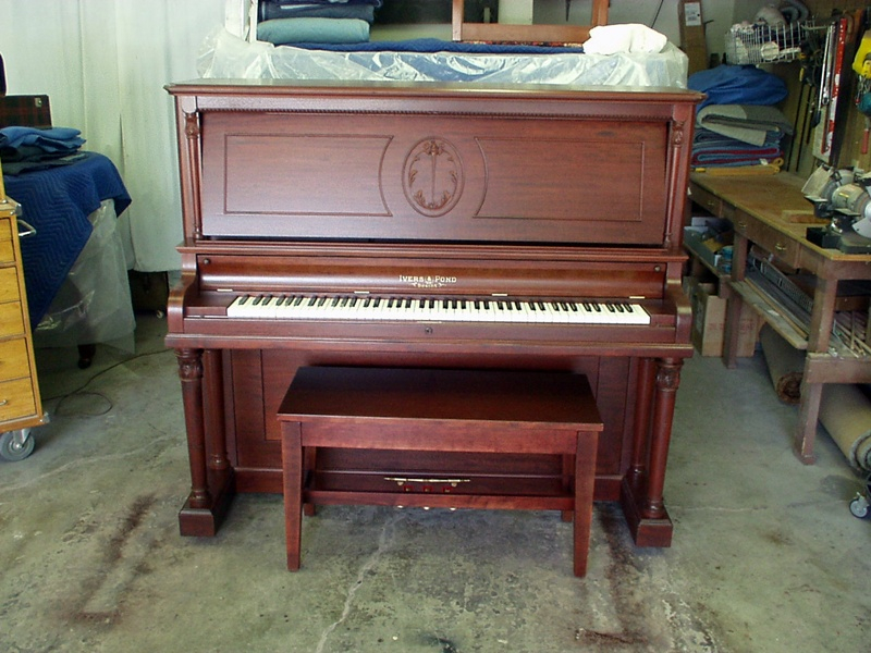 Ivers & Pond Upright Piano
