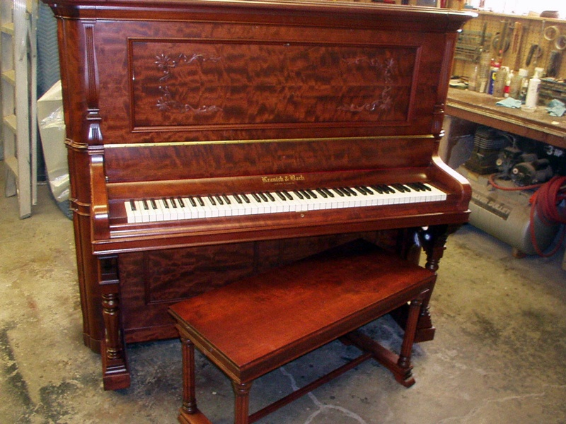 Kranich & Bach Upright Piano