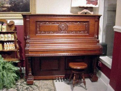 Wing Upright Piano