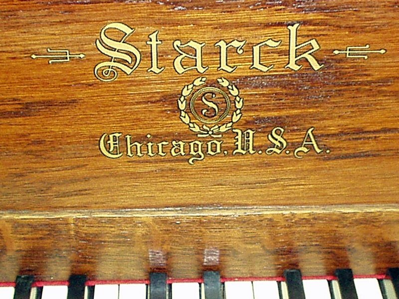 Starck Council Upright Piano