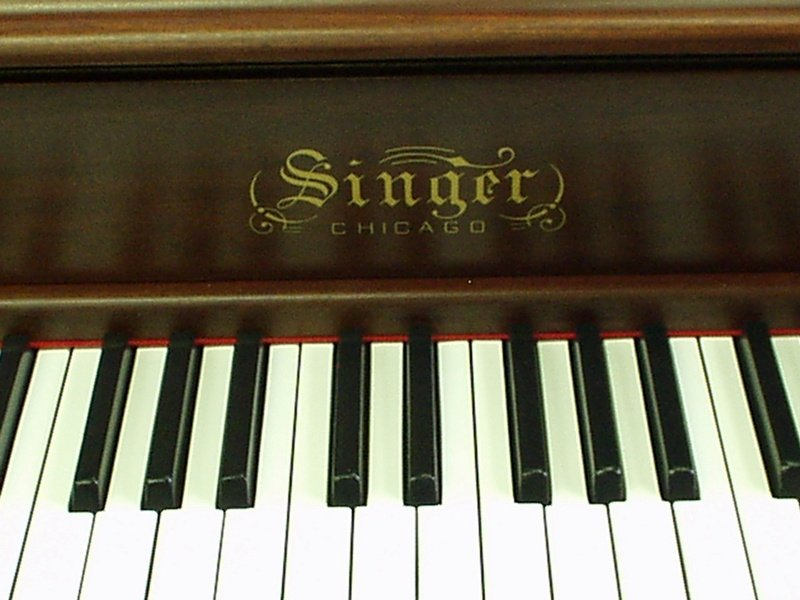 Singer Upright Piano